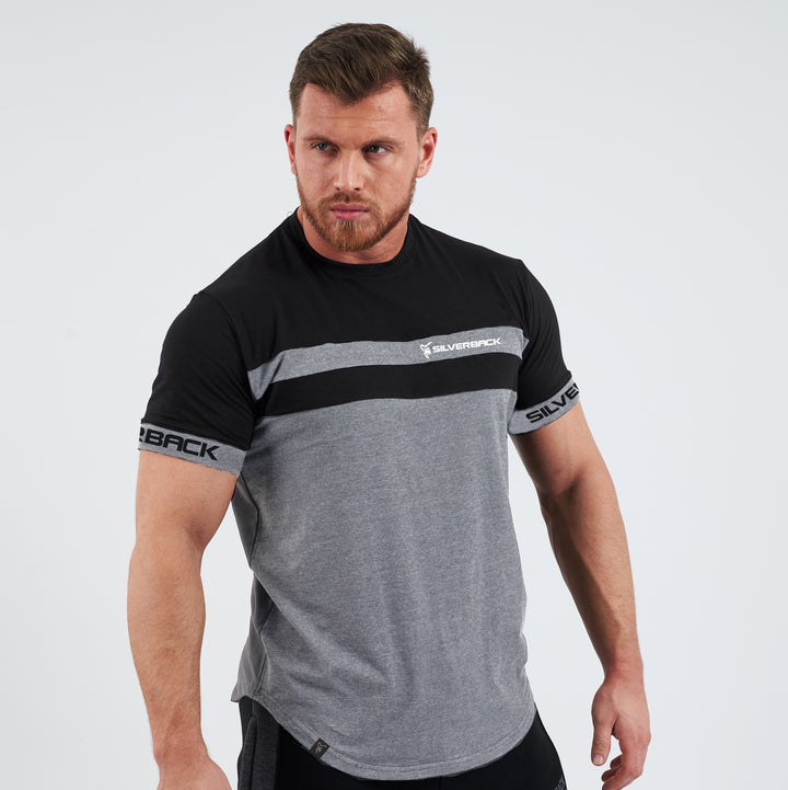 Pro-Fit Contoured Black/Heather - T-Shirt