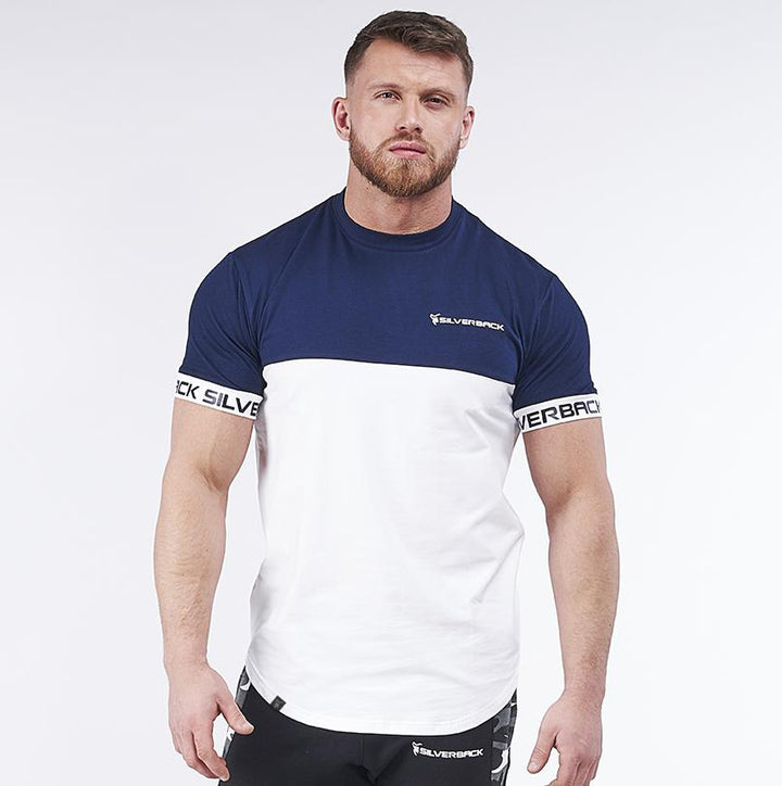 Pro-Fit Contoured Navy/White - T-Shirt
