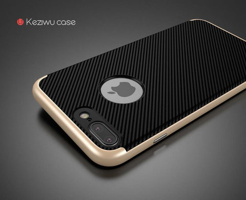 Apple iPhone 7,7 Plus Luxury Armor Shield Silicone Case