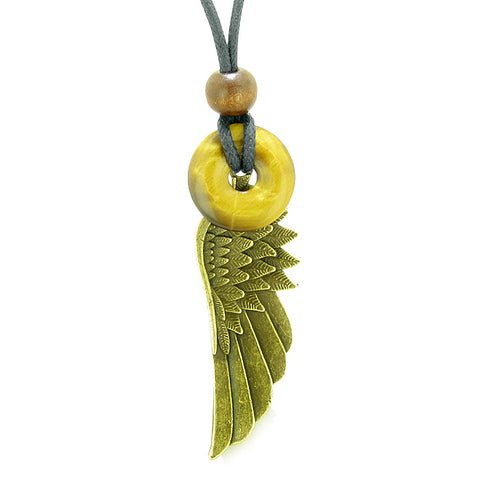 Guardian Angel Wings Good Luck Charms Jewelry Amulets and Talismans