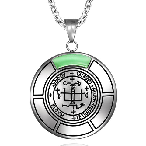Archangel Sigils Fashion and Gemstone Magical Medallions Jewelry Amulets and Talismans