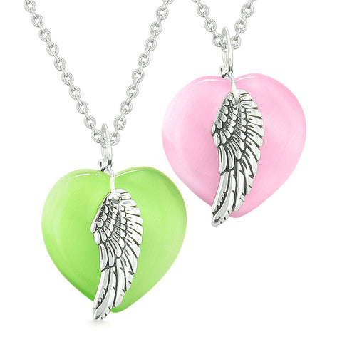 Guardian Angel Protection Powers Love Couples and Best Friends Jewelry Amulets and Talismans