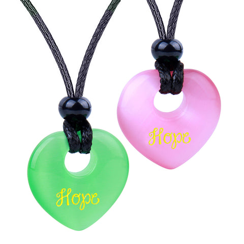 Inspirational Lucky Heart Shaped Donuts Good Luck Charms Jewelry Amulets and Talismans