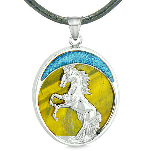 Horse Wild and Courage Powers Fashion Jewelry Amulets and Talismans