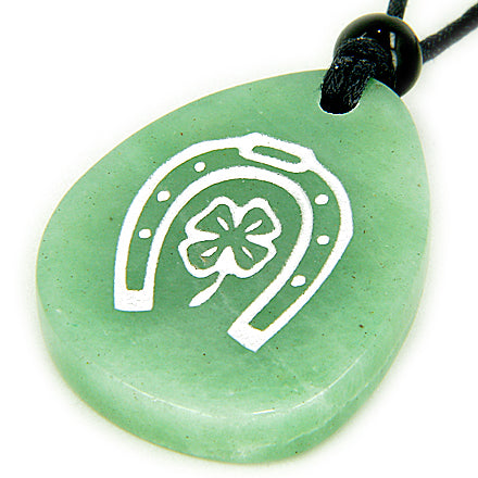 Horse Shoe Good Luck Powers Handcrafted Wish Stones Amulets and Talismans