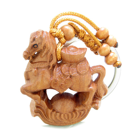 Horse Wild and Courage Powers Keychains Good Luck Charms Amulets and Talismans