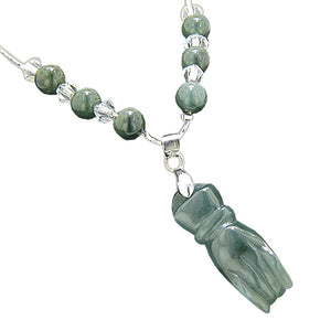Unique Green Jade Necklaces
