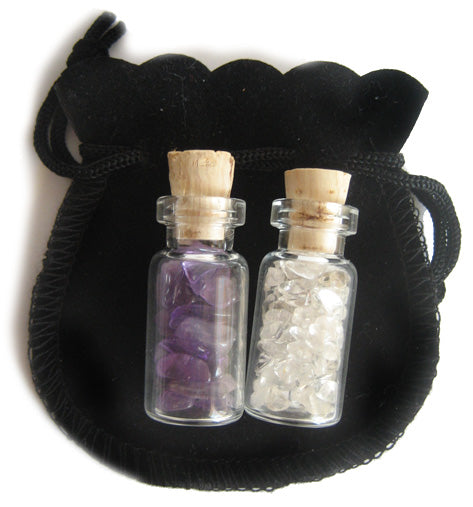 Aquarius Talisman Bottles