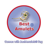 Amulets Will Always Love You Forever Couples Coin Donuts Blue Simulated Cats Eye Hematite Necklaces