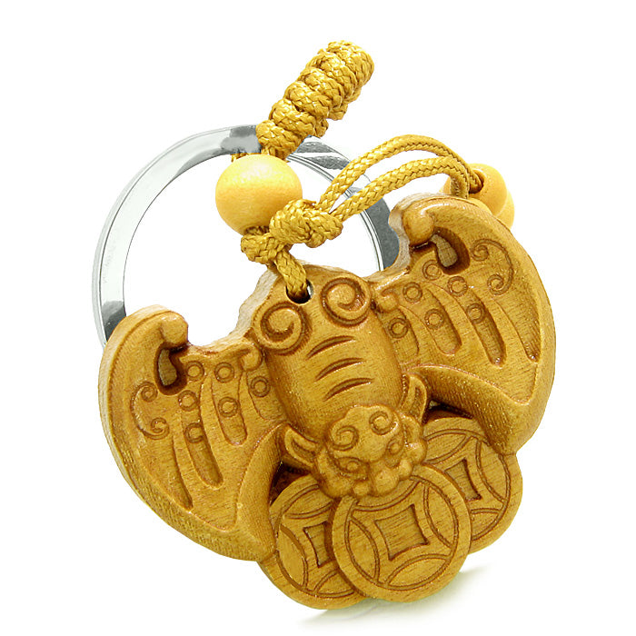 Amulet Flying Bat Lucky Coins Magic Protection Powers Charms Feng