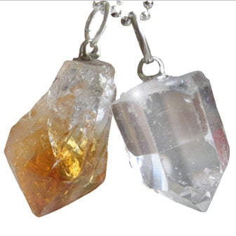 Special Double Lucky Crystal Talisman Pendants
