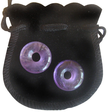 Travel Protection Talisman Crystal Donuts