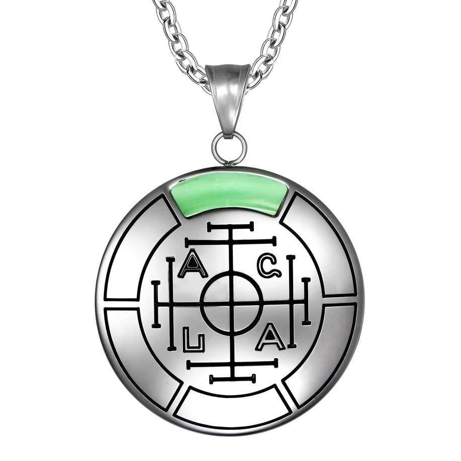 Fortune wealth and success magic medallion amulet pendant necklace fortune wealth and success magic medallion amulet pendant necklace aloadofball Gallery