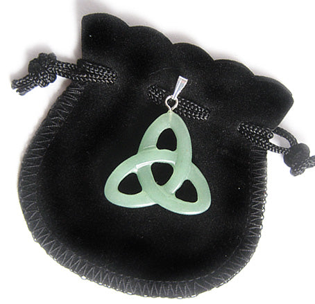 Money Talisman Celtic Triquetra Knot