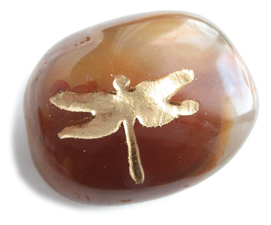 Lucky Charms Dragonfly Totem Gemstone