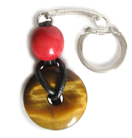 Lucky Donut Talisman For Evil Eye Protection Key Chain