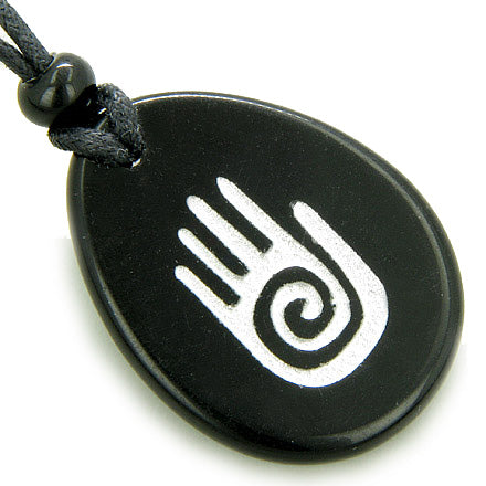 Infinity Buddha Protection Hand Spiritual Amulet Good Luck Necklace