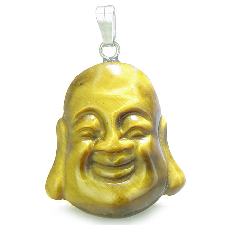 Amulet happy laughing buddha lucky charm tiger eye gemstone evil eye amulet happy laughing buddha lucky charm tiger eye gemstone evil eye protection powers pendant aloadofball Image collections