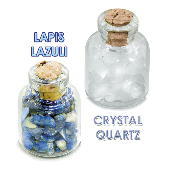Archangel Gabriel Sigil Guardian Angel Blessings Amulets Glass Stones Lapis Quartz Bottles