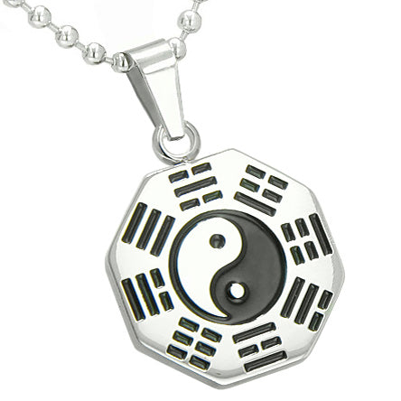 pendant charm w charms lucky silver amulet sterling disc medallion necklace good chains luck