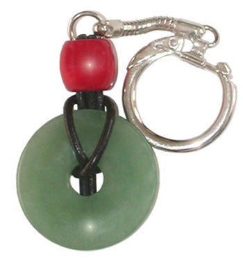Aventurine Keychain Talisman For Money