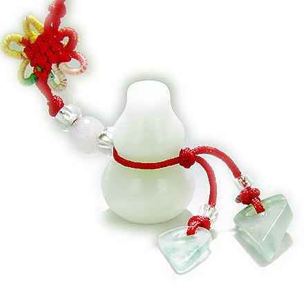 Money Talisman Natural Jade Lucky Wulu Cell Phone Charm
