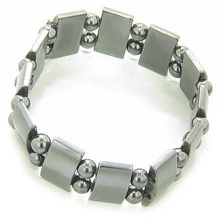 Magnetic Protection And Beautiful Magnetic Hematite Bracelet