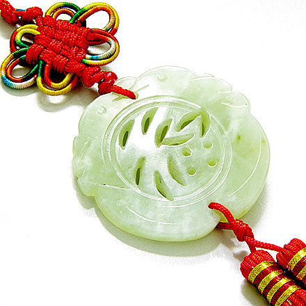 Lucky Good Fortune Jade Feng Shui Blessing
