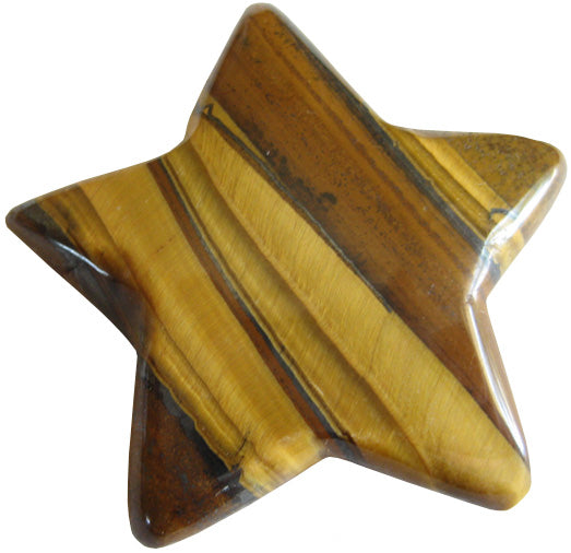 Lucky Star In Tiger Eye Crystal