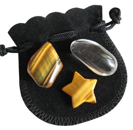 Evil Eye Protection Talisman Star Pouch