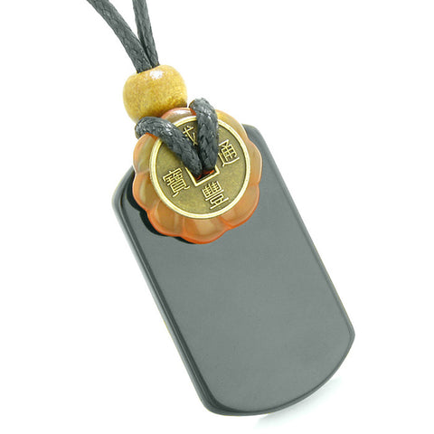 Cool Agate Tag Carnelian Tiger Eye Lucky Celtic Coin Donut Amulets Couples or Best Friends Necklaces