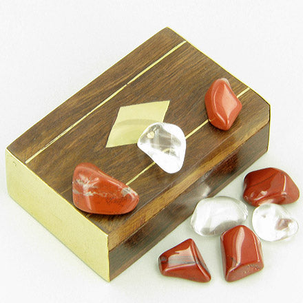 Small Treasure Chest Will Power Talisman Wish Box With Jasper