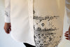 #SH4-18 Deconstructed Handmade Embroidery Long Shirt (SHIRT WITH STORY)