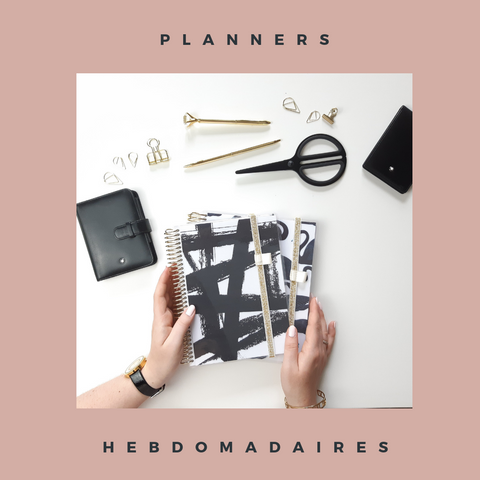 Slow Life Planners Hebdomadaires