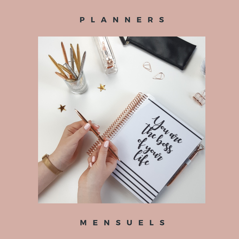 Slow Life Planners Mensuels