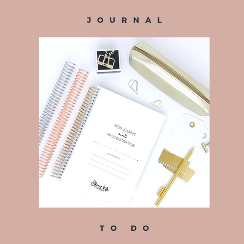 Slow Life Planner Journal To do