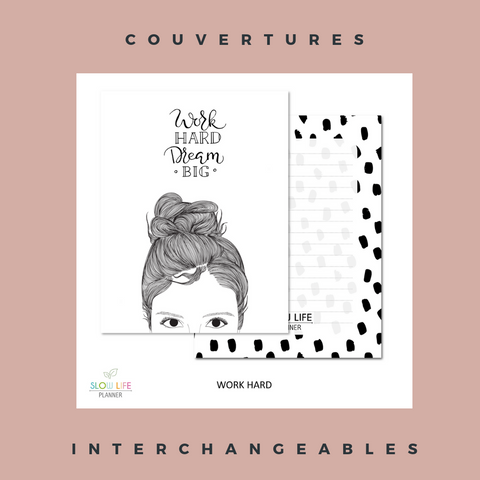 Slow Life Planner couvertures interchangeables