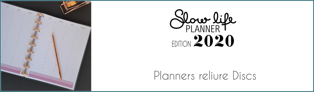 Planners Edition 2020 reliure discs