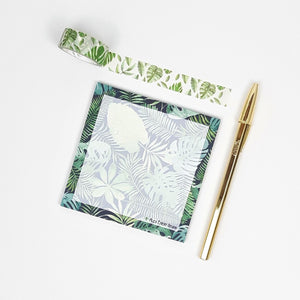 Slow Life Planner Goodies Bag Monstera