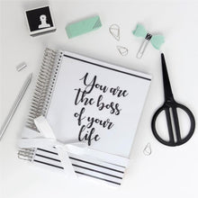 Charger l'image dans la galerie, Slow Life Planner Couverture interchangeable Boss of your life