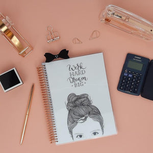 "Carnet de Comptes Luxe - Couverture ""Dream BIG"" - Slow Life Planner"