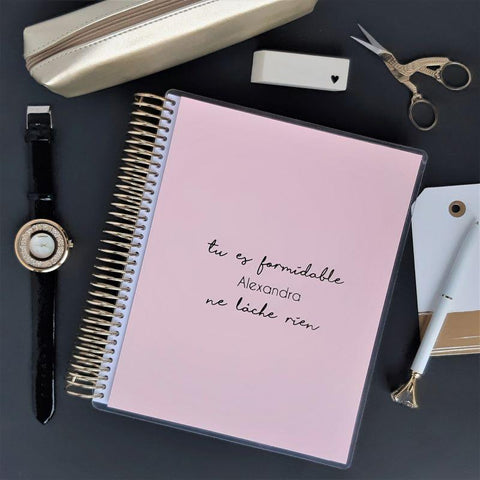 Planner Hebdomadaire 2020 - Personal - Tu es formidable - Slow Life Planner
