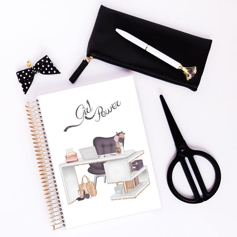 Slow Life Planner journal de notes - bujo - girl power