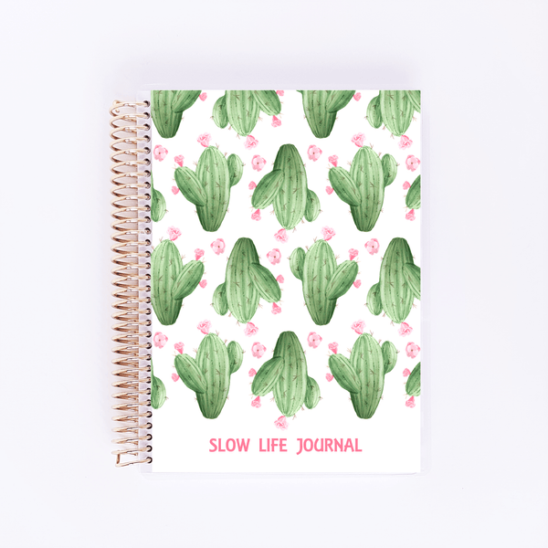 Journal - Cactus - Slow Life Planner