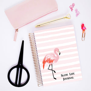 Journal - Flamant Rose - Slow Life Planner