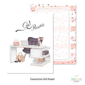 Slow Life Planner Couverture interchangeable Girl Power