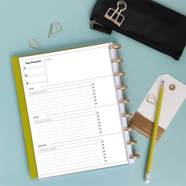 Inserts Planner 2020 - Classic Horizontale - Slow Life Planner