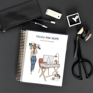 Planner Hebdomadaire 2020 - A5- Follow your dreams - Slow Life Planner