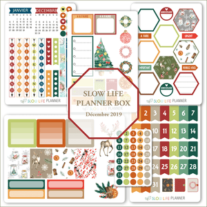 Goodies Planner Box de Décembre 2019