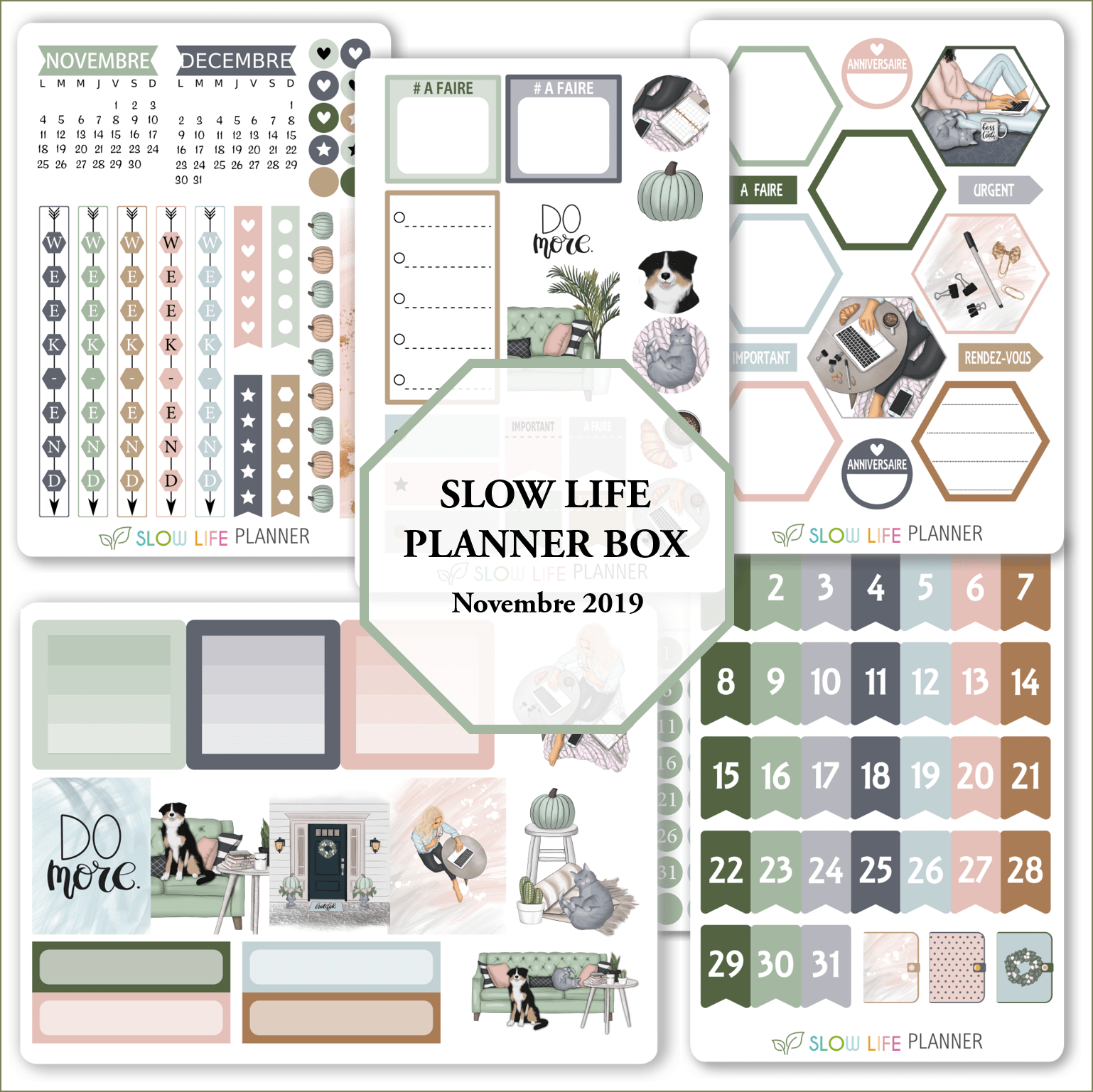 Goodies Planner Box de Novembre 2019